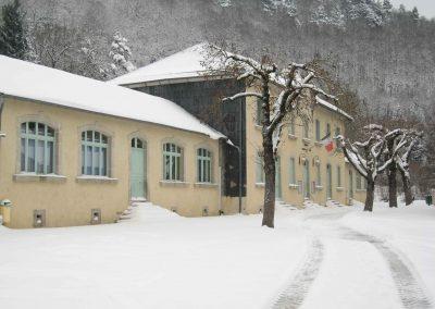 viane-la-mairie-ecole-sous-la-neige - © Alain Fritsch