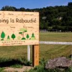 ouverture camping DE LA RABAUDIE