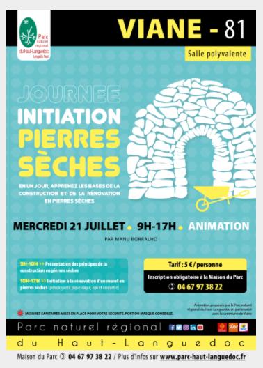 """Journée """"Initiation Pierres Sèches"""""""